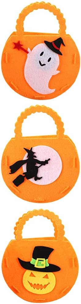 BESTOYARD 9pcs Halloween Candy Bags Ghos Pumpkin Woven Max 42% OFF Limited time trial price Non Witch