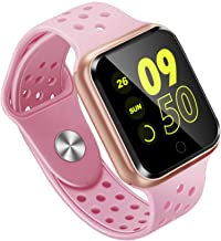 Smart Armband Smart Armband Activiteit Fitness Tracker Hartslagmeter Bloeddruk Smart Polsband Wit roze
