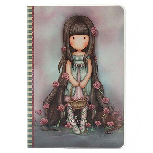 Gorjuss By Santoro 3628729031 - Cuaderno gorjuss a5 rosie