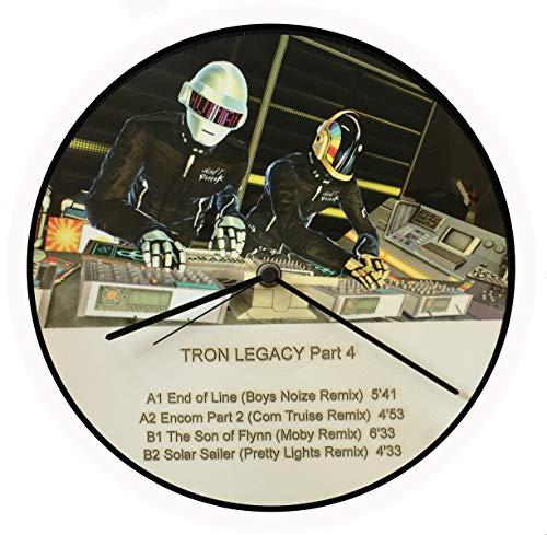 Reloj de vinilo Daft Punk, disco de vinilo 33T, Vintage, Picture Disc,...