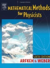 Mathematical Methods for Physicists: A Comprehensive Guide 6th Edition (Book Only)