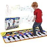 RenFox Alfombra de Piano, Alfombra Musical de Teclado, 5 Modes & 8 Sounds Touch...