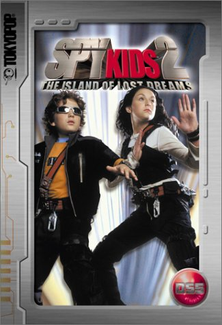 Spy Kids 2 Cine-Manga: The Island of Lost Dreams