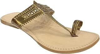 Copper Kolhapuri Chappals Flip Flop Kolhapuri Sandal Leather Handmade Ethnic Sandals Casual Sandals