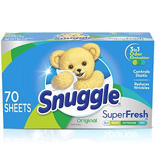 Snuggle Plus Super Fresh Fabric Softener Dryer Sheets