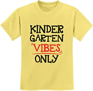 Tstars - Kindergarten Vibes Only Back to School Youth Kids T-Shirt