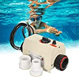 IIS 3KW 220V 240V Electric Water Heater Thermostat SPA Bath Heater Pump,Premium Quality Water Heater Thermostat Swimming Pool Thermostat Portable Pool Heater