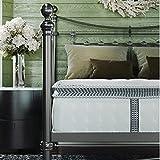 Classic Brands Decker Memory Foam and Innerspring Hybrid 10-Inch Mattress | Bed-in-a-Box Queen