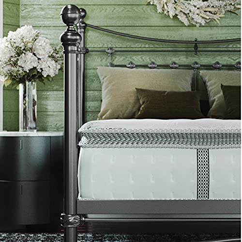 Classic Brands Decker Memory Foam and Innerspring Hybrid 10-Inch Mattress | Bed-in-a-Box Twin