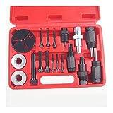 La eliminación de la automoción compresor de aire acondicionado de reparación del embrague herramienta de la bomba de CA manual del coche fijó las herramientas del embrague del compresor del tirador R