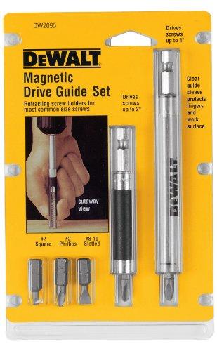DEWALT Bit Set with Magnetic Drive Guide (DW2095)