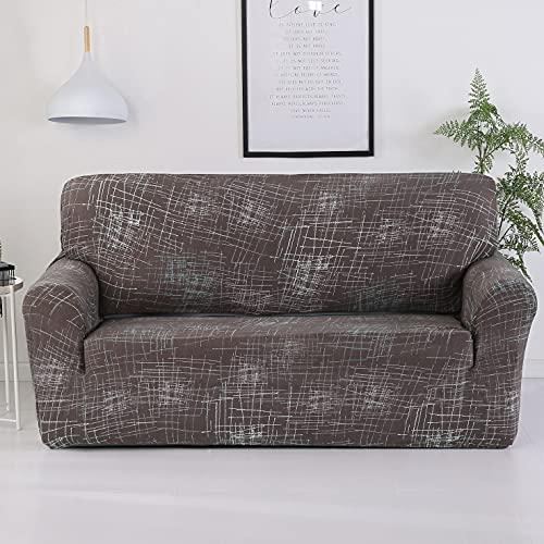 MKQB Funda de sofá con impresión Moderna para Sala de Estar, Funda de sofá elástica con combinación de Esquina, Funda de sofá con protección para Mascotas N ° 1 M (145-185cm