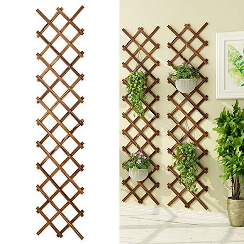 Holz Wand Klapppflanze Blume Stand, Rustikalen Stil Indoor Outdoor Garten Terrasse Display Rack Home Decor,Small