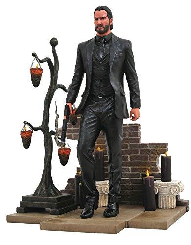 John Wick- Estatua, Multicolor, Estandar (Diamond Select Toys JUN182313) , color/modelo surtido