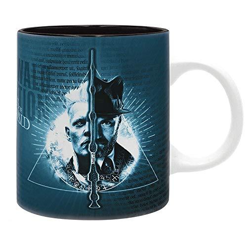 Phantastische Tierwesen 2 - Grindelwalds Verbrechen - Premium Keramik Tasse - Grindelwald Vs Dumbledore - Geschenkbox