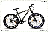 Ampa Cycle for Adults with Front Shocker and Dual Disc Brakes Semi Fat Bike for Men & Women with...