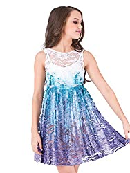 Watercolour Girls Hand Painted Lace Tank Overdress WC203C