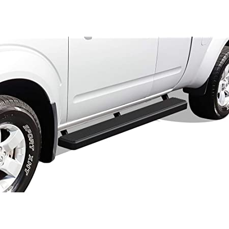 3 Black Coated Side Step Nerf Bar Running Board Replacement for Nissan Frontier Suzuki Equator Crew Cab 05-20