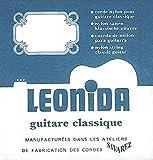 Savarez Cuerdas para Guitarra Clásica Leonida
