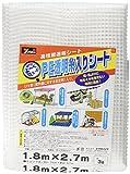 ユタカメイク PE透明糸入りシート 1.8m 2.7m B-309