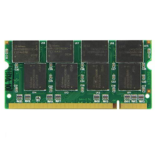 Laptop-Speicher Ram SO-DIMM DDR1 PC 2100 / DDR 266 MHz 1GB 200PINS für Notebook-Computer