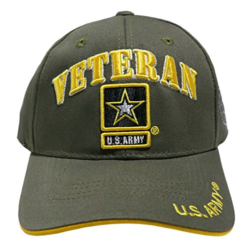 JM WARRIORS Officially Licensed Embroidered US Military Baseball Cap Hat