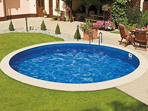 Mountfield AZURO Ibiza VBL5 Stahlwandpool, rund, Ø 500 x 150 cm, Pool mit Innenfolie, ohne Filteranlage
