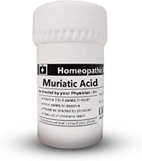 MURIATIC Acid 200C Homeopathic Remedy in 25 Gram
