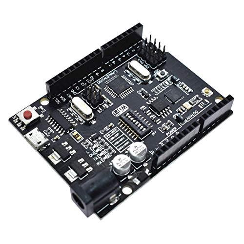 WiFi R3 ATmega328P + ESP8266 Placa de desarrollo (memoria de 32 Mb) USB-TTL CH340G