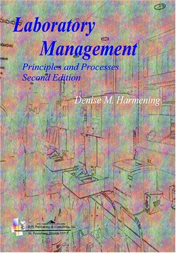Laboratory Management: Principles and Processes