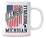 Independence Day Celebration Ideas Coffee Mug Roseville Michigan It's Where My Story Begins Country Coffee Mug Gift - Happy Treason Day Ungrateful Colonials Unique Funny Mug 11oz