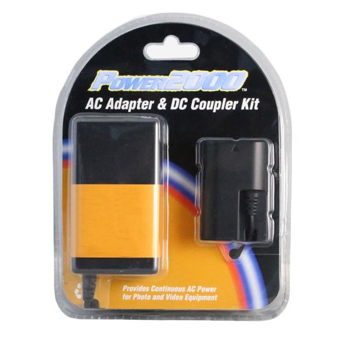 Digital Camera Adapter Compatible with Sony Alpha NEX-6 Digital Camera Adapter Coupler Kit - Replacement For Sony ACPW20 Coupler Kit