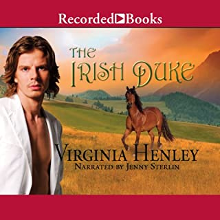 The Irish Duke audiobook cover art