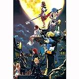 VGSD® Anime Puzzles Adult Puzzle Jigsaw 1000 Piezas, Cartoon Kingdom Hearts III Juego De Rompecabezas Juguetes Desafiantes para Adultos