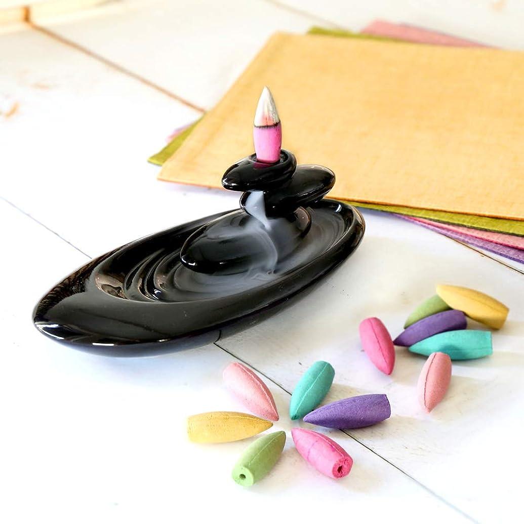 メールアートロイヤリティアロマインセンス ギフト 6種の香り アロマ香炉 BOX 逆流香 (通常ラッピング)