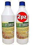 Detergente pavimenti STOP INSETTI, ST 2 x 1000 ml, con estratti di Citronella, Geranio e TEA TREE OIL, tiene lontano gli insetti e animali striscianti dalla tua casa (2kg)