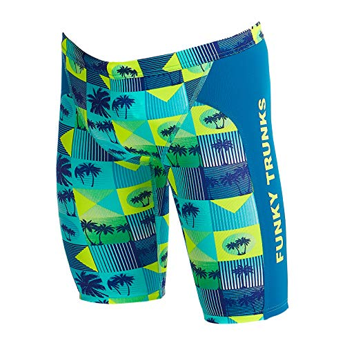 Funky Trunks Jungen Training Jammer Pop Tropo Badehose (AUS28 / 164)