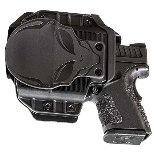 Alien Gear holsters Cloak Mod OWB Paddle Holster Taurus PT111 Millennium G2 (Left Handed)