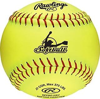 Rawlings 加拿大官方垒球,12 支,RFPBP12SY