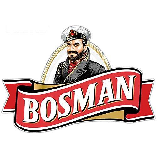 13 cm x 5,6 cm lustige Autoaufkleber Bosman Bier Cartoon Aufkleber RV Auto Ganzkörper lustige JDM Patrick Autozubehör