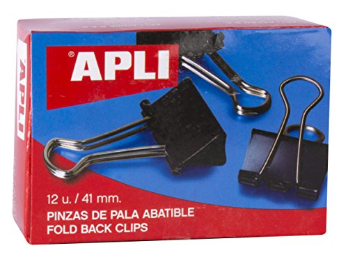 APLI 11951 - Pinza pala abatible 41 mm 12 u.
