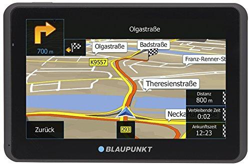 Blaupunkt 1091234028 TravelPilot 65 ACTIVE CE LMU 5 Zoll PKW Navigation, Navigationssystem, Aktiv Halter, Central Europa Karte, Lifetime Update, TMC