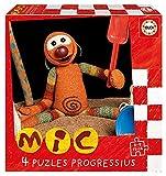 Educa 19104 Mic. Set de 4 Puzzles Infantiles Progresivos de 6, 9,...