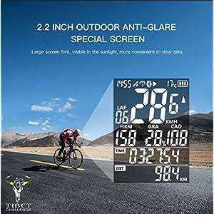 iGPSPORT Ciclocomputadores GPS Ant+ Función iGS50E Computadora Bicicleta Inalámbrica Ciclismo Cuentakilometros Bici - Blanco …