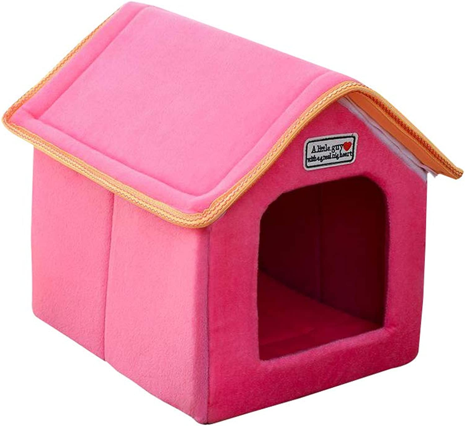 Dog Bed, Four Seasons Available, Dog Washable, Small Dog House, Cat Bed, Multicolor Optional (color   B, Size   M)
