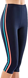 Damen Capri Leggings Sport-Jogginghose Stretch Push Up Sporthose Tayt 535