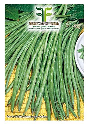 400 c.ca zaden bruine bonen mangico dolico veneto - dolichos melanopthalmus in originele verpakking geproduceerd in italië - bruine bonen veneti
