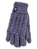 HEAT HOLDERS - Damen Thermisch Winter Handschuhe in 7 Farben (S/M, Marineblau)