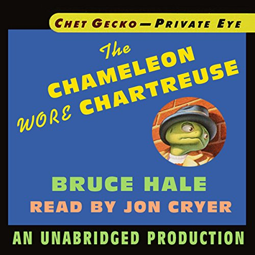 Chet Gecko, Private Eye, Book 1 cover art