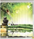 Ciujoy Duschvorhang 180x180cm, Duschvorhang Anti-Schimmel Duschvorhäng Wasserabweisend Shower Curtains Waschbar Anti-Bakteriell Duschvorhänge aus Polyester Badvorhang mit 12 Duschvorhängeringen (G)